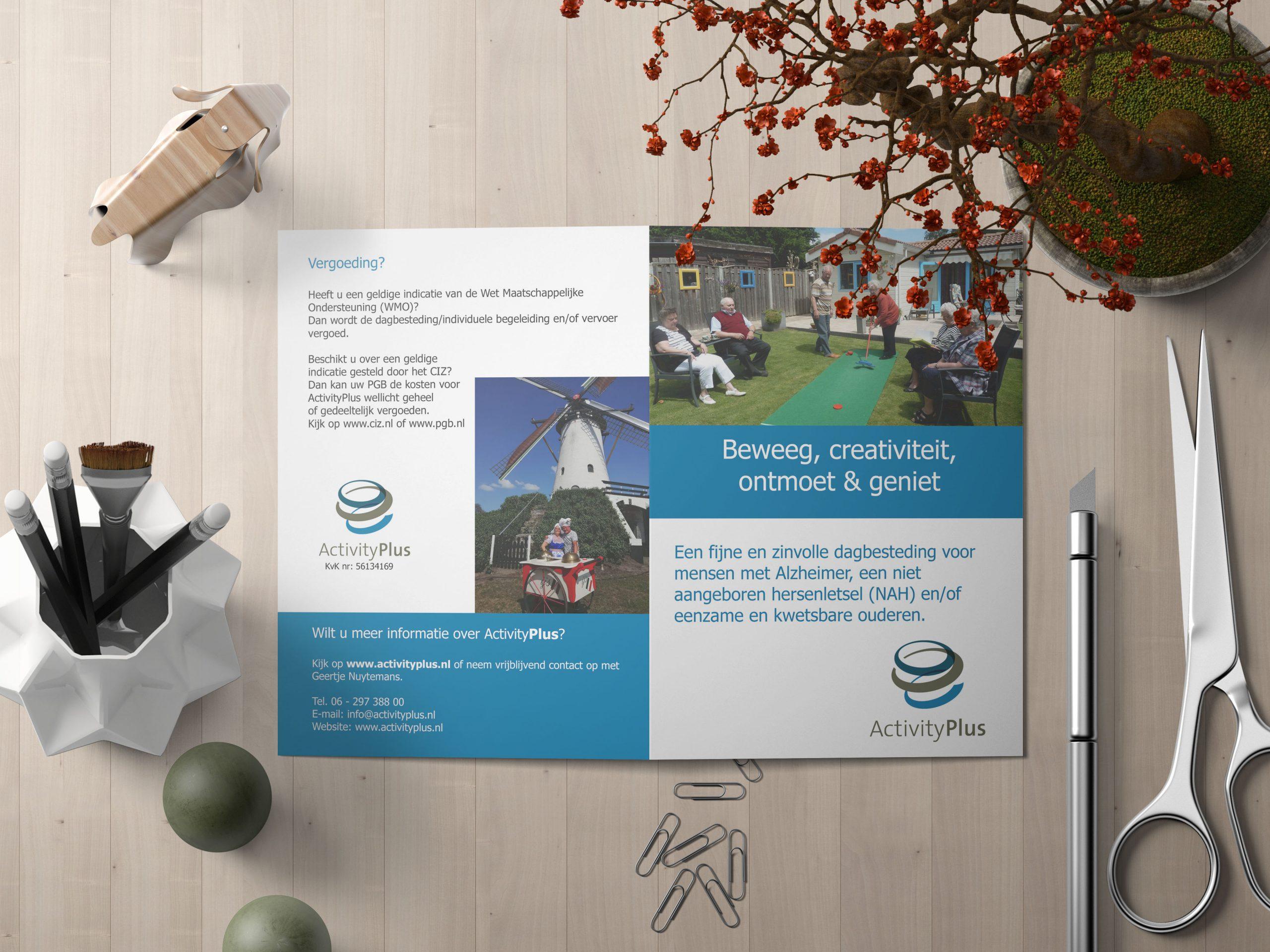 brochure voor ActivityPlus