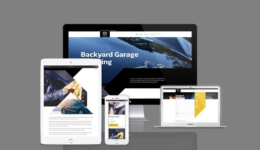 backyard-garage - Halsteren